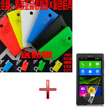 OP5 New Battery Back Door Cover Case + LCD Protector for Nokia Lumia X