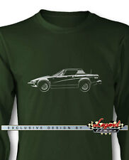 Triumph TR7 Coupe Long Sleeves T-Shirt - Multiple Colors and Sizes - British Car