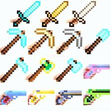 10-HOT PIXEL Costume STYLE /PICK AXE/HAND HELD/MINECRAFT SWORD/PICKAXE EVA FOAM