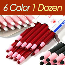 Peel-Off China Markers Grease Pencil For Metal Plastic Fabric - 12 PCS 1 DOZEN