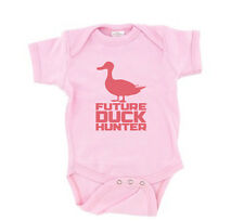 Future Duck Hunter Baby T-Shirt Duck Pink Girls One Piece Hunting Dynasty