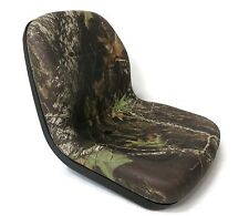 New Camo HIGH BACK SEAT for Simplicity Zero Turn Lawn Mower Tractor  Made in USA
