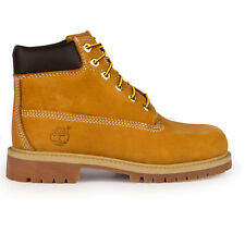Youths Timberland 6-Inch Premium Waterproof Wheat Boots