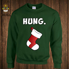 Funny Christmas Hung Mature Xmas Gag Gift Dirty Sex Hoodie Sweater Sweatshirt