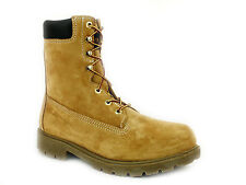 "Wolverine W01124  WaterProof 10"" Insulated Steel Toe  EH  Mens Work Gold  Boots"