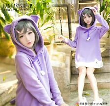 Hentai Ouji to Warawanai Neko Hoodies Skirt Sweater Cos Prop Gift