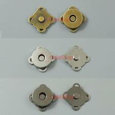 Plum Shape Magnetic snaps Hidden Hand Sewing in Purse Closure Fastener 14MM