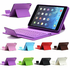 For New Apple iPad Mini 3 2 1 Case Wireless Bluetooth Keyboard Stand Folio Cover