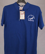 First 18 Official AFL North Melbourne Kangaroos Mens Polo