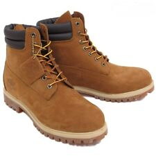 Timberland Mens Double Sole 6 Inch Work Boots Style 73542 Rust Waterproof