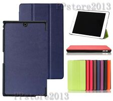 Wake/Sleep Ultra-Thin Fold Leather Case Cover For Sony Xperia Z3 Tablet Compact