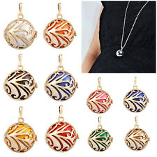 Mexican Baby chimes sounds bola bell harmony ball pendant Angel Caller Necklace