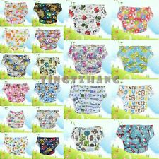 Hot Saels Printed Baby Reusable Waterproof Cloth Diapers Nappy Liner Insert