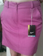 Nike Golf Tour Performance Modern Rise Skort Womens 12 14 Fuchsia 508284 636