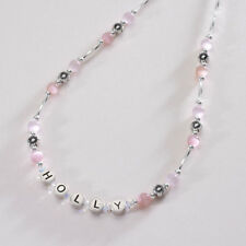 Girls Name Necklace, Personalised Jewellery with Any Name,  Childrens Jewellery
