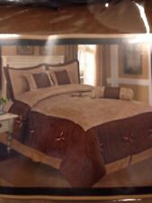 7 PCS  Western Star Design Luxury Suede Comforter Set Availabl in King or Queens