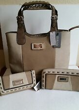 NWT GUESS HANDBAG, WALLET OR WALLET WITH AROUND ZIP SOLD SEPARATELY OR TOGETHER