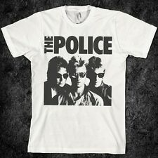The Police T-shirt, vintage, music, band, UK, Sting, British, concert, London