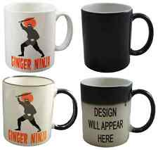 GINGER NINJA Funny Novelty Printed Mug Joke - Ideal Redhead Gift / Present