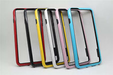 Stylish TPU Hybrid Rubber Bumper Frame Smart Case Skin Soft Cover For Cell Phone
