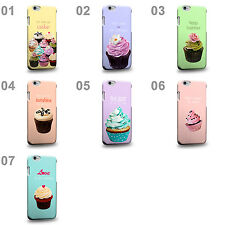 CASE88 Art Collections Hand Drawing Cupcake Assorted Design Phone Case Cover