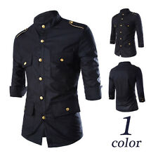 Fashion Mens Clothes Shirts Cheap Wholesale Clothes Korean Slim Shirt New Bottom
