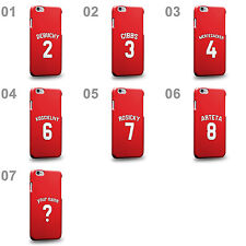 Customized English league Gunners Soccer Team Home Jersey A Phone Case Cover