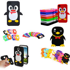 Penguin Mobile Phone Case Cover for Samsung Galaxy 2 3 4, iPhone 4 5, iPod Touch