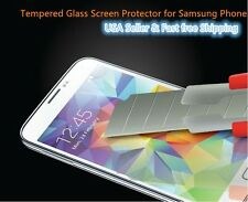 Tempered Glass Screen film Protectors For Samsung galaxy S4/S5/Note2/Note3/Mega