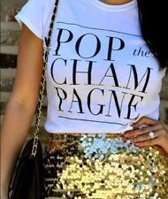POP The Champagne Ladies T shirt