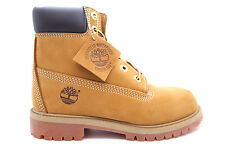 [12909-] TIMBERLAND 6 INCH PREMIUM CONSTRUCTION BOOT GRADE SCHOOL SHOES WHEAT SU