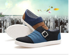 Spring and autumn mesh upper trend casual canvas shoes for men