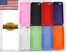 2200mah External Backup Battery Charger Case Power Bank for Apple iPhone 5 5S