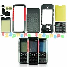 BRAND NEW FULL HOUSING KEYPAD + BATTERY COVER + CHASSIS + LENS FOR NOKIA 5310