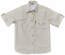 Shirt for Women Safari Hunter S/S Stone Sizes 3XL and 4XL *SPECIAL*