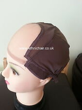 Snuggle Glueless Full Lace Wig Making Cap. Wig Cap. Weaving Mesh Net With Strap