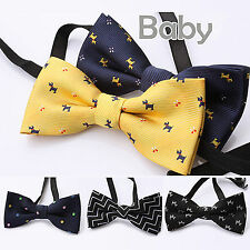 1PC Boys Kids Children Party School Wedding Dance Silk bow tie Necktie bowtie
