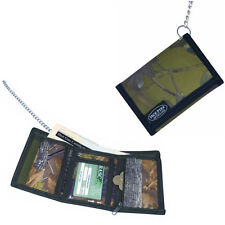 NEW Jack Pyke Folding Wallet On A Strong 60cm Chrome Chain With Sturdy Clip