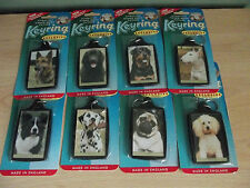 Dog Keyrings Various Breeds to choose from
