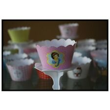 "12 GIRLS Party ""DISNEY'S SNOW WHITE"" Cupcake Wrappers-WORLDWIDE FREE SHIPPING"