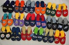 NFL Forever Collectibles Mens Jersey Mesh Slippers House Shoes 2014