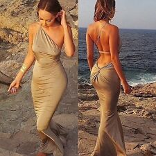 Personalized Sexy Women Strapless Club Dress Maxi Bandage Bodycon Party Dresses
