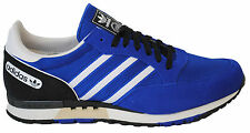 GENUINE MENS ADIDAS ORIGINAL PHANTOM (Q23429) BLUE/BLACK/WHITE B-GRADE