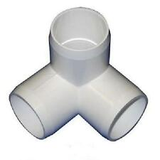 "1"" 3-Way Corner Elbow PVC Fitting Connectors - - 1 inch 3 way 16, 24 or 48 PACKS"