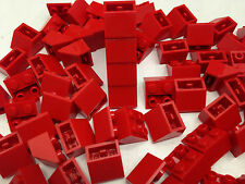 LEGO - 3660 Red Roof Inverted Tile - 25 Pieces Or 50 Pieces