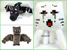 Minecraft 24'' Enderdragon /7'' Bat Plush/13''Ghast Plush Soft Toy Official Jinx