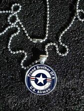 United States Air Force Airman Proud Choose A Family Member Image Necklace