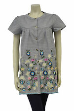 Darling Floral Tilly Tunic Top/Dress Size 8/10/12/14 (ID9115)