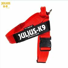 Julius K9 IDC Belt  Harness for Dogs red NEW