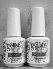 Gelish Top & Base Coat Clear Gel Nail Salon UV Manicure Polish ,USA Seller